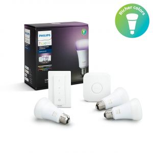 Starter Kit 3X E27 Philips Hue couleur