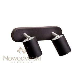 Applique eye spot 2X noir - Nowodvorski